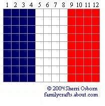 флаг Франция <u>бисера</u> бисер