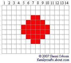 флаг Япония бисер