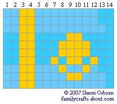 флаг Казахстан бисер