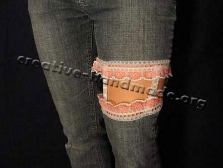 джинсы своими руками