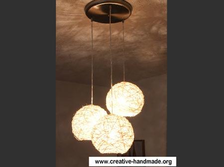 Лампы люстры своими руками