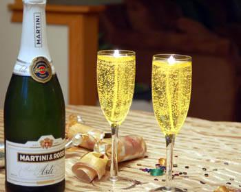 Лента на шампанское своими руками