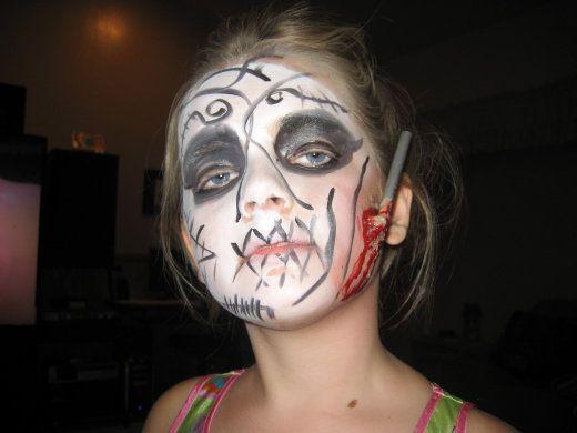Что можно сделать на хэллоуин своими руками на лице