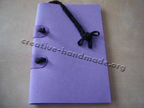 Как сделать блокнот своими руками из бумаги без сшивания