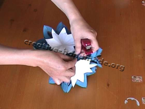Шар из цветов из бумаги своими руками