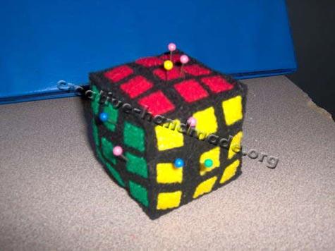 Кубик из фото своими руками