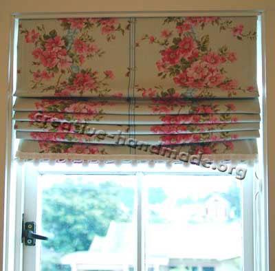 римские шторы ручной работы