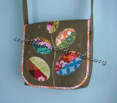 оригинальная handmade сумка.
